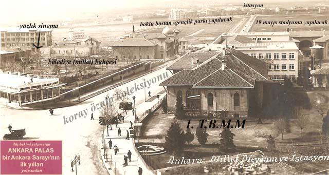 Ankara Oteli bu Taslak Ankara Palas Oteli